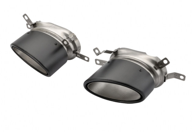 Audi RS6 Twin Exhaust tips 2
