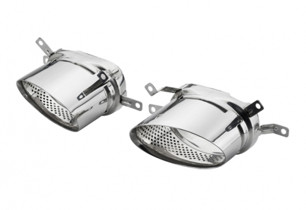 Audi RS6 Twin Exhaust tips 1
